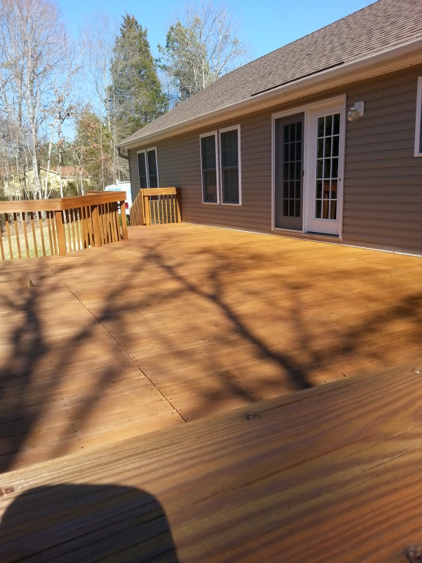 wood stain protection